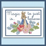 Peter Rabbit Cross Set + Bonuses